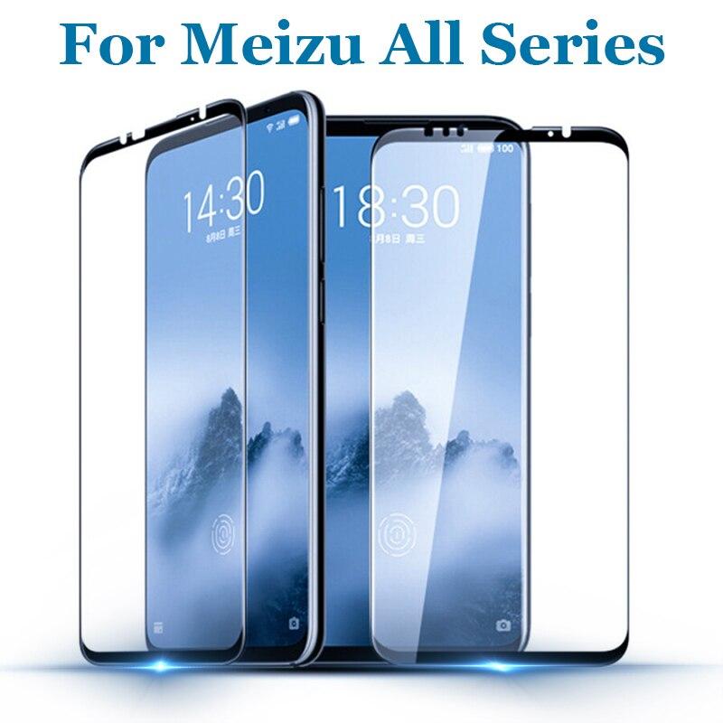 Для Meizu 16 th M6S MX6 M5S Pro 7 6 Plus защитное стекло полное покрытие закаленное стекло для Meizu U10 M5 Note Защитная пленка для экрана