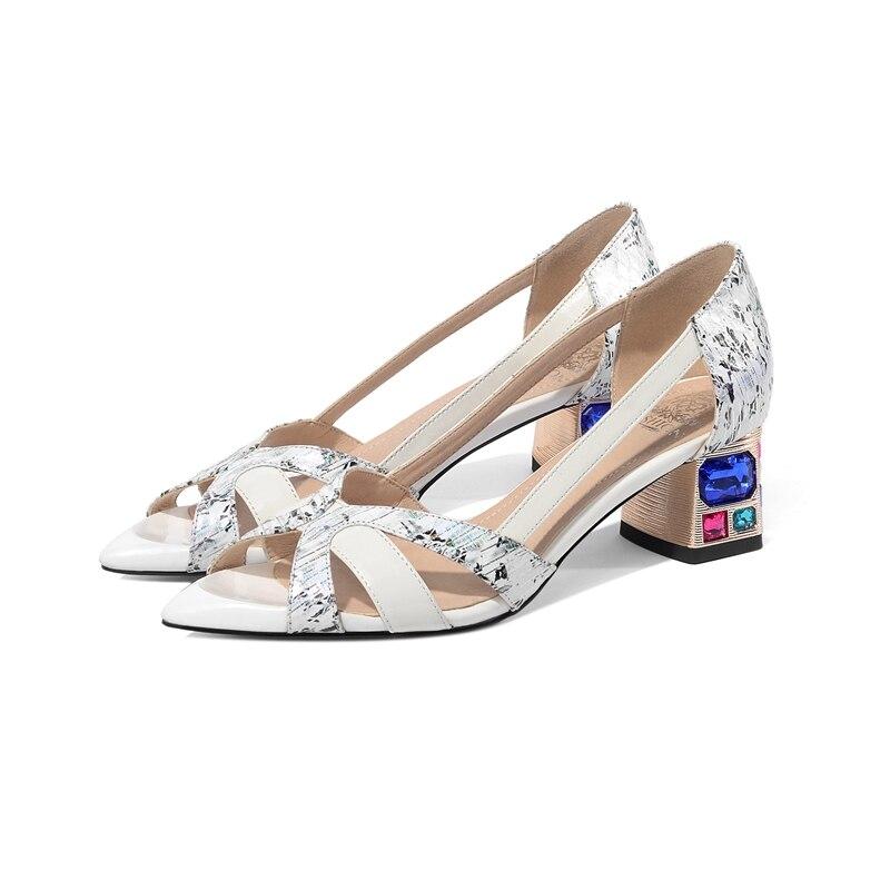 Coolulu artesanal bombas de salto alto clássico festa de formatura vestido sapatos deslizamento em couro pvc moda tribunal sapatos femininos salto alto