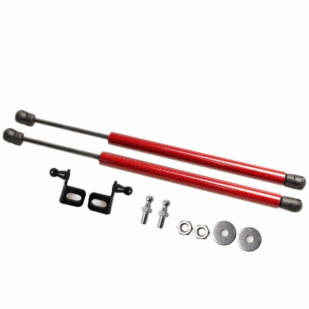 Para Suzuki baleno para Toyota glaza 2015-2019 capó delantero modifique la elevación de la fibra de carbono del resorte del Gas soporta los golpes del brazo de la barra de los puntales