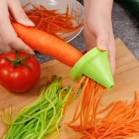ירקות פירות מבצע נירוסטה חיתוך תפוח אדמה ספירלת מבצע גזר מכשיר שמץ לבשל סלט צנון קאטר מטבח כלים