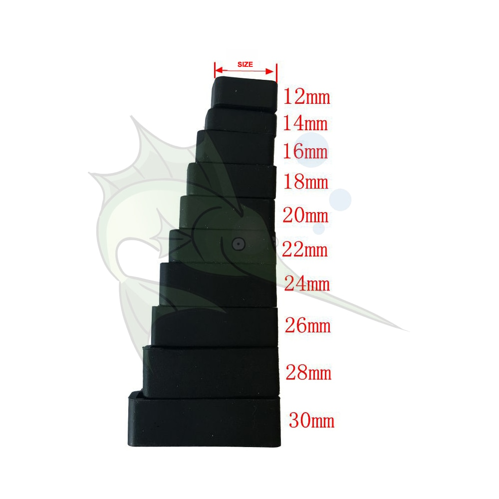 6pcs/lot Black Watch Strap Loop Replacement Parts Silicon Watchband Retaining Loop Hoop Rubber Holde