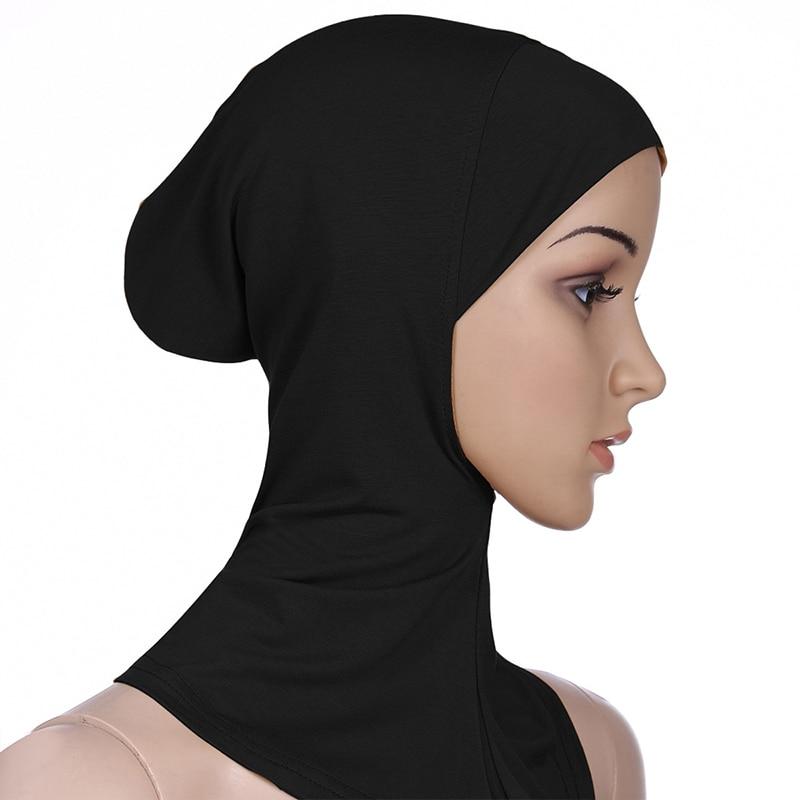 Muslim Underscarf Women Veil Hijab Head Scarves Muslim Women Scarf Turbans Head For Women Women's Hi