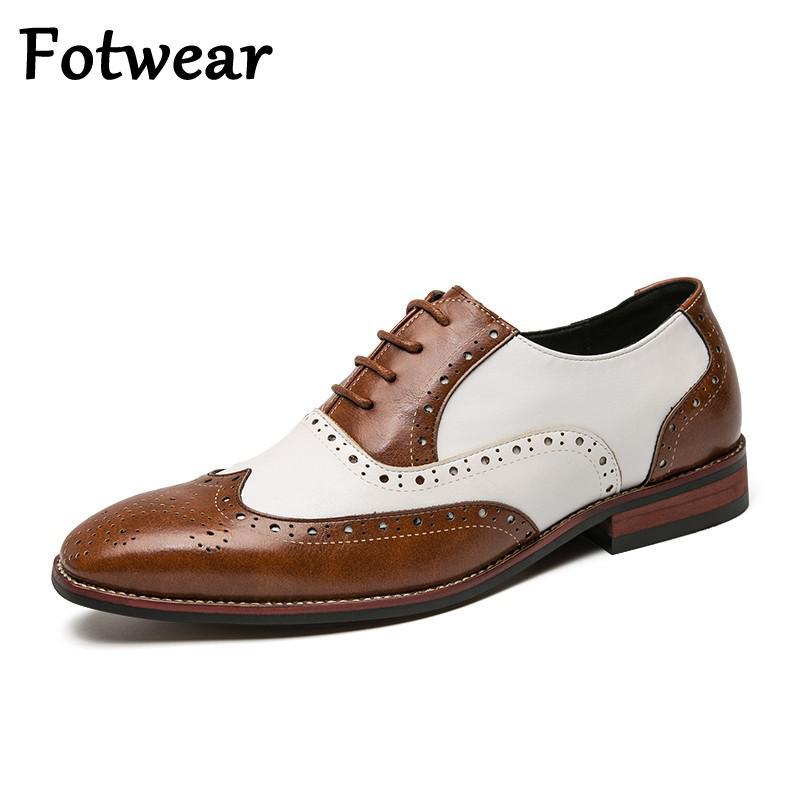 Sapatos de Festa de Casamento dos Homens do Tamanho Grande da Moda Sapatos de Vestido de Designer Sapatos de Renda até Oxfords Italiano Masculino Drivng Formal