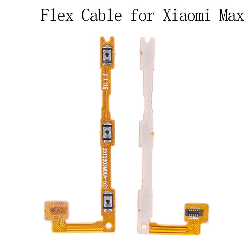 Cable flexible de botón lateral de volumen y tecla de encendido y...