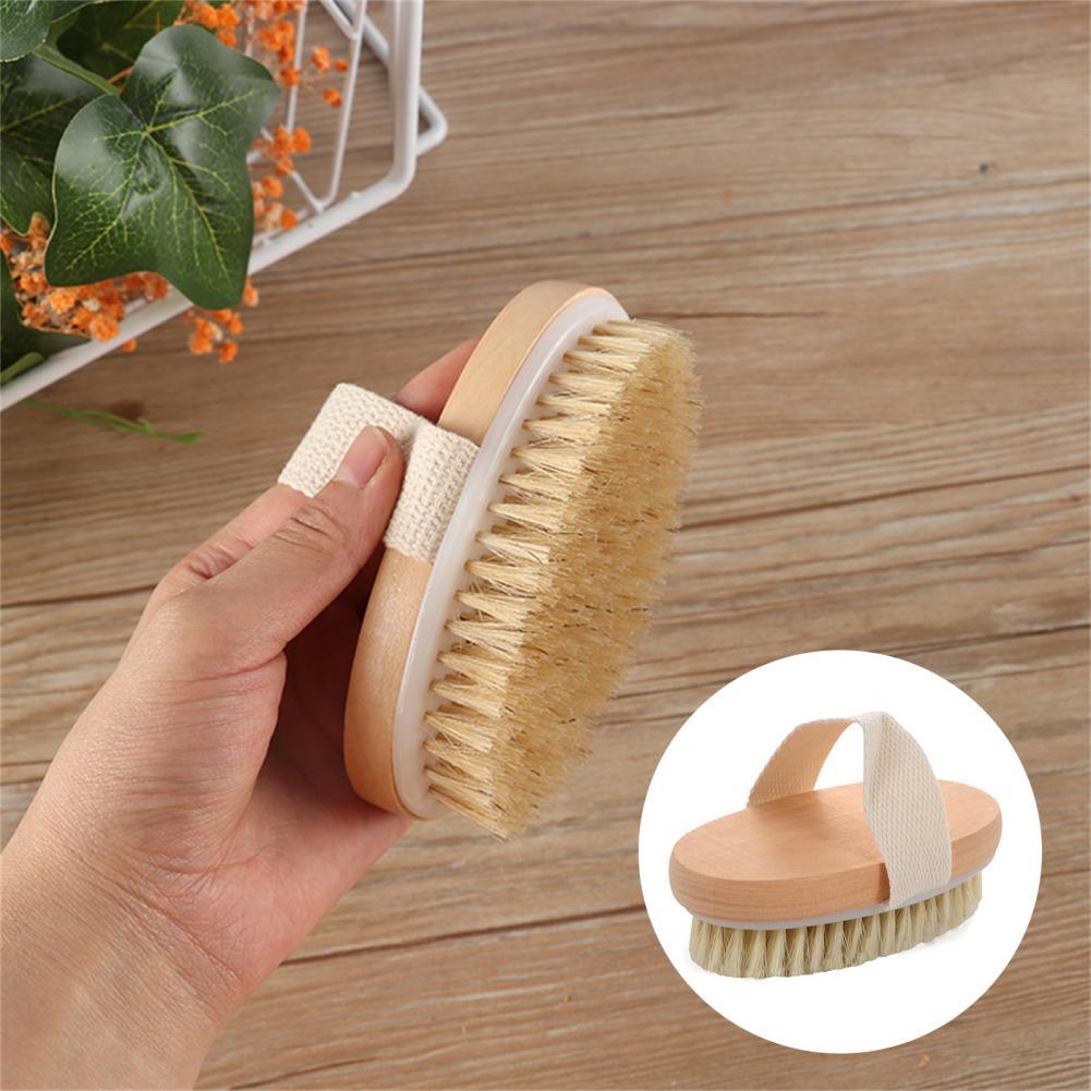 Skin Care Skin-friendly Exfoliating Body Massage Shower Bath Brush for Bathtub