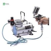 tc 20b 220v 23 25 l min 15hp small airbrush compressor small vacuum pump airtight pump