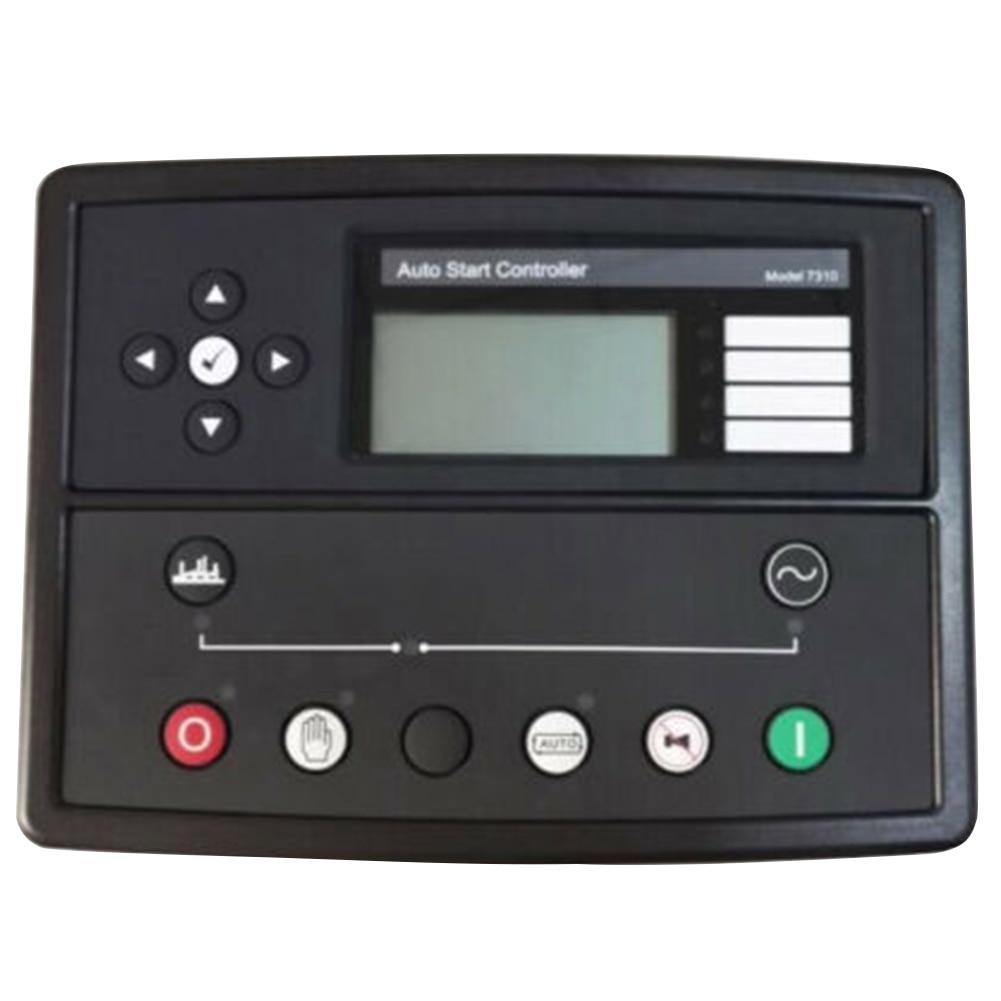 DSE7310 Módulo de Monitor de motor de pantalla Digital preciso reemplazo de la pantalla LCD arranque automático controlador de grupo profesional duradero