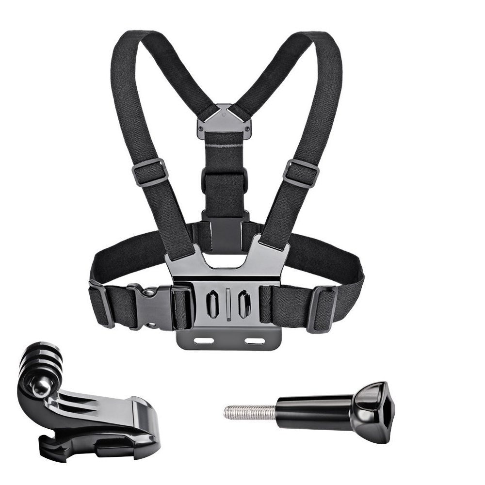 Chest Strap mount belt for Gopro hero 7 6 5 4 3+ 3 Xiaomi yi 4K Action camera Chest Harness for SJCAM SJ4000 sport cam fix shoot fetch dog harness chest strap for gopro hero 9 8 7 5 session sjcam sj4000 m20 xiaomi yi 4k h9r dji action camera accessory
