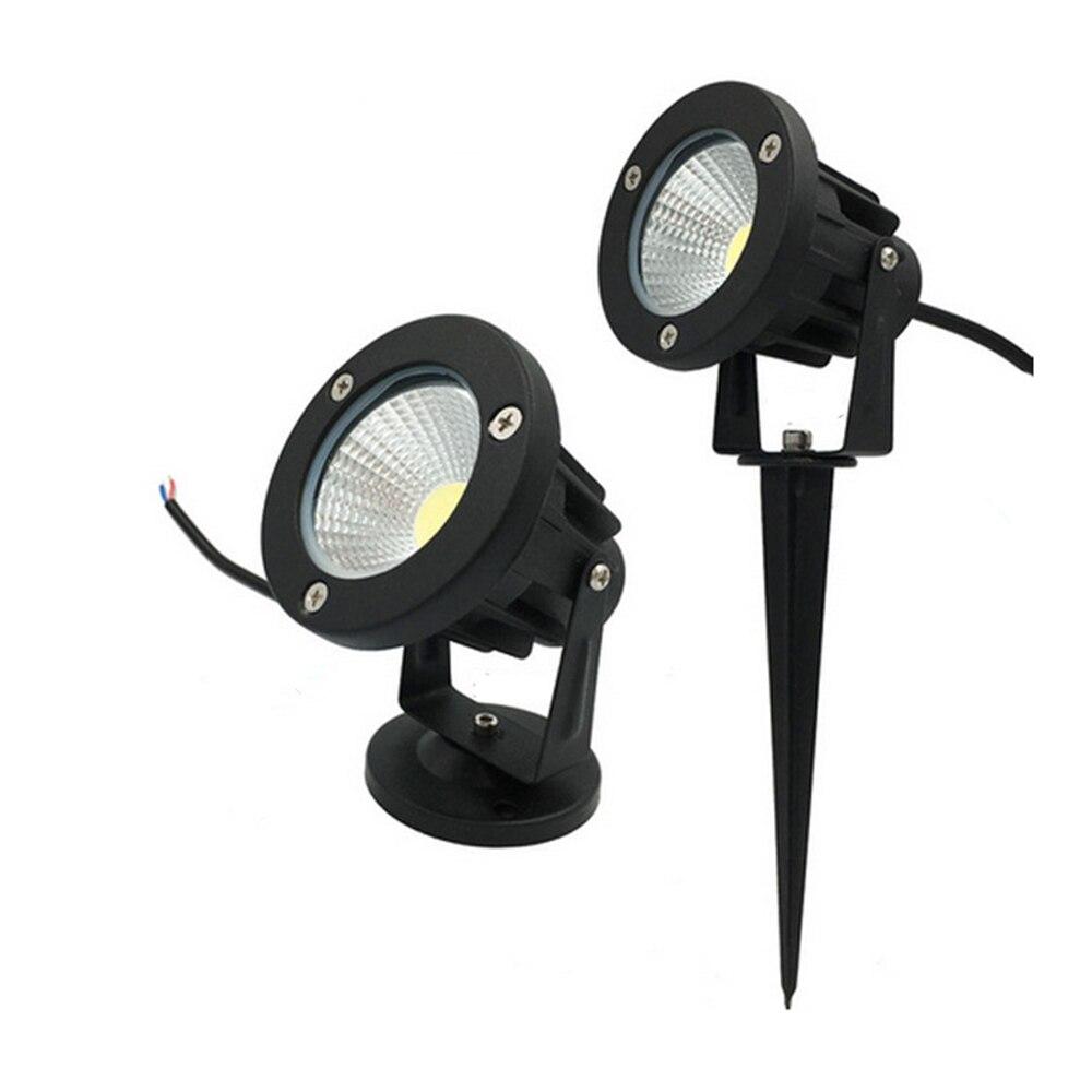 lampada led de caminho para jardim luz de novo estilo ac 85 265v com pico para paisagem