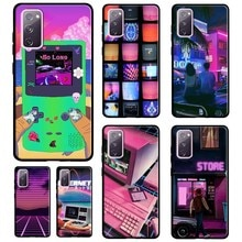 Aesthetics 80's Style Aesthetic Phone Case For Samsung Galaxy S20 FE S21 Ultra Plus S10 S9 S8 Note 2