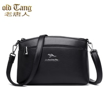 Retro Fashion Ladies Shoulder Bags for Women 2021 New High Quality Leather Women's Crossbody Bag Mes