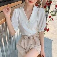 2PCS sets women shirts   shorts summer 6274