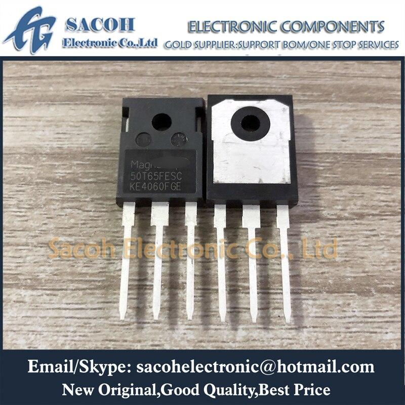 Envío gratis 10 Uds MBQ50T65FDSC 50T65FDSC MBQ50T65FESC 50T65FESC MBQ50T65FDHC 50T65FDHC-247 50A 650V campo para IGBT