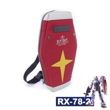 Harajuku Mobile costume Gundam RX-78-2 bouclier sac Anime Cosplay rouge école sac à dos sac à bandoulière bras unique voyage sacs de messager
