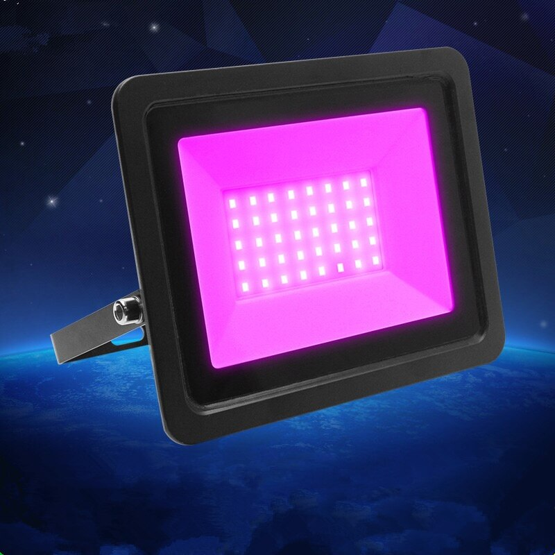 50W US EU plug purple LED flood light waterproof projection lamp AC110V/220VDJ disco night club KTV holiday party stage lighting