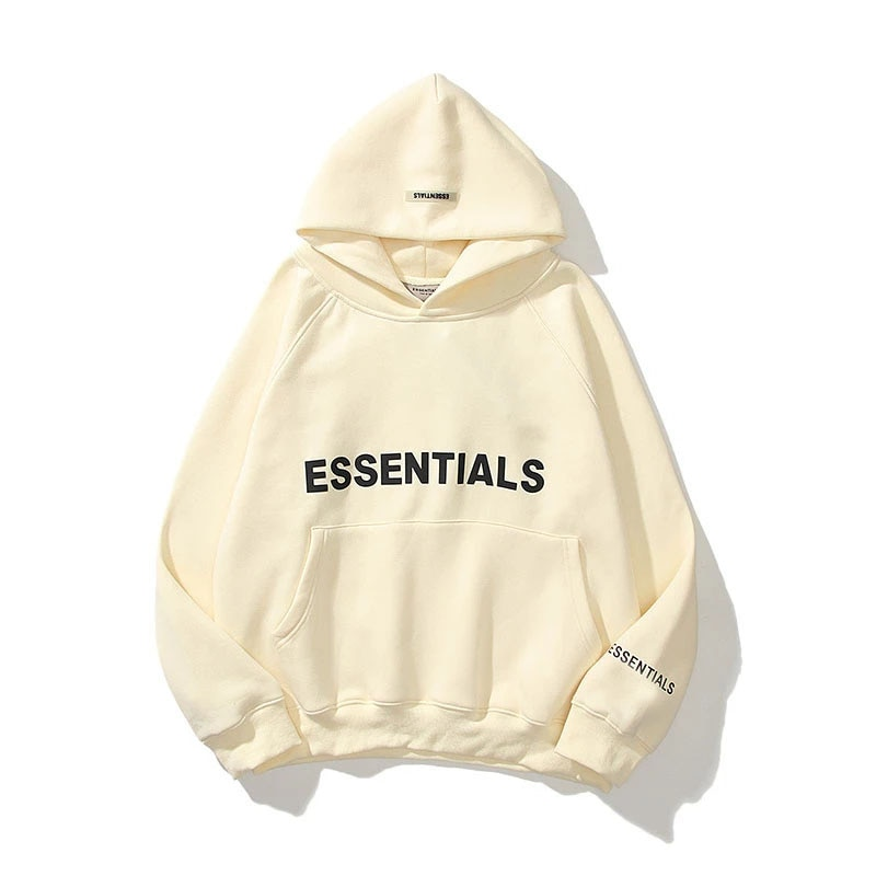 2021 European and American high street hip hop street wind double line pressure stereoscopic letter hoodie hoodie women with vel