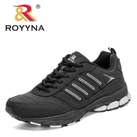 royyna 2020 new style action leather sport shoes men sneakers walking running hot sale shoes man jogging footwear mansculino