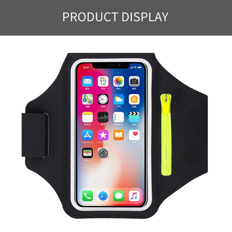 Lauf Sport Telefon Fall Für iphone Huawei Samsung Xiaomi Telefon Arm Band tasche Sport Handy Halter Fall