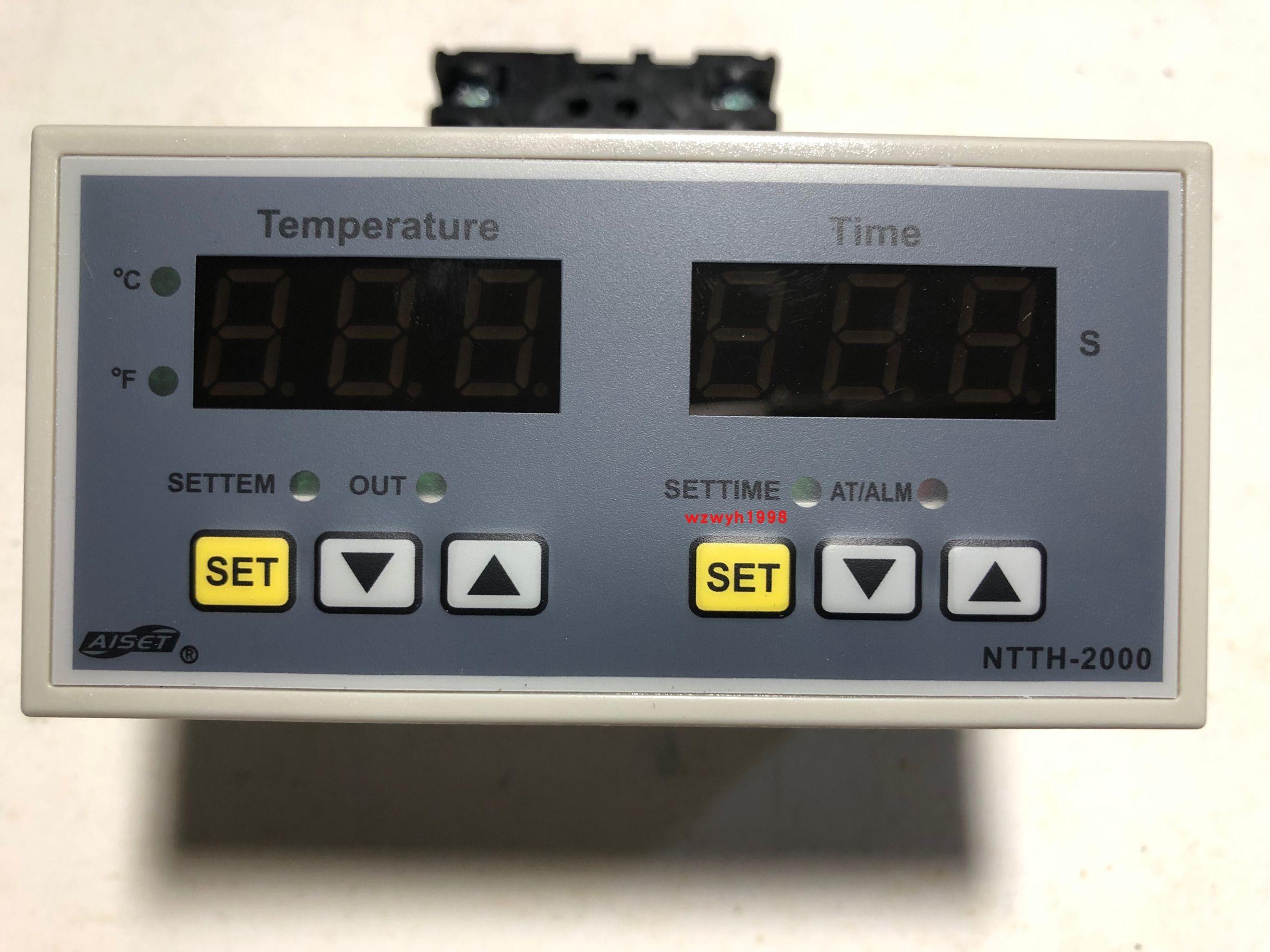 AISET sensor eléctrico Shangai Yatai NTTH-2411V máquina de transferencia de calor Control de temperatura temporizador NTTH-2000 punto