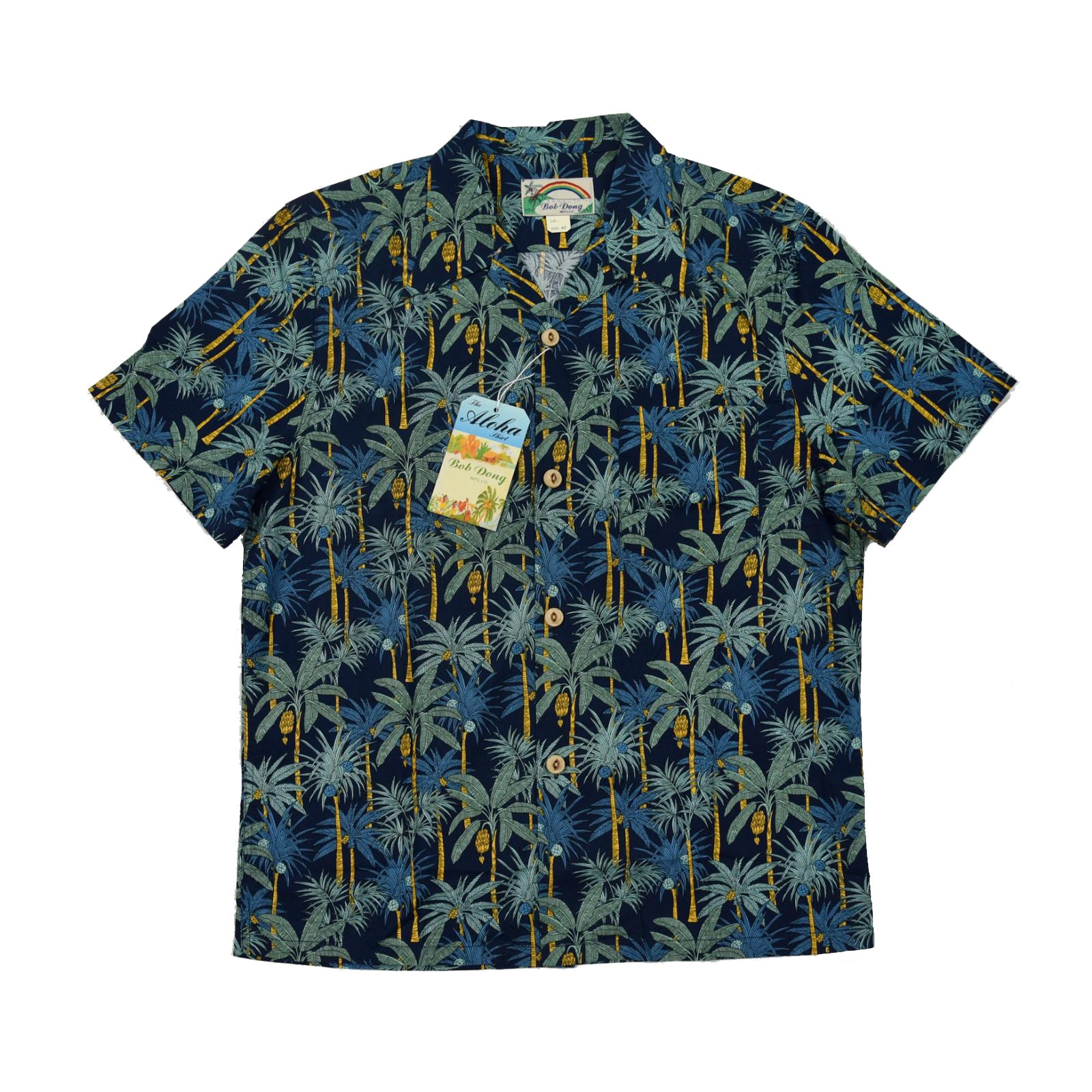 Гавайские рубашки с принтом ладони, воротник лагеря, мужские тропические футболки Aloha