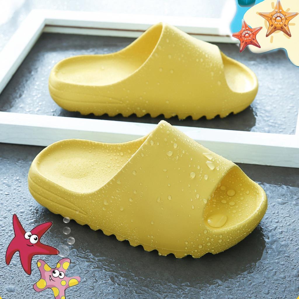 2021 Всесезонные детские комнатные тапочки для девочек и мальчиков, пляжные сланцы, сандалии, плоская обувь для бассейна, домашняя обувь из ЭВ...