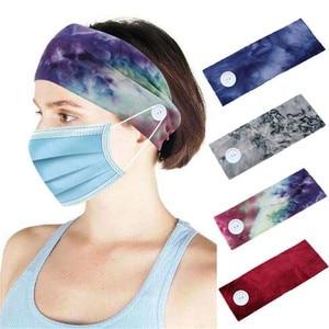 Cool Sweatband Headband Head Wrap Bandanas Hair Band Turban for Nurses Women Sports Yoga Fitness Hair Accessories  d88