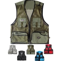 men summer vest outdoor multi pockets photography men fishing vest mesh male vest men fishing waistcoat photography clothing