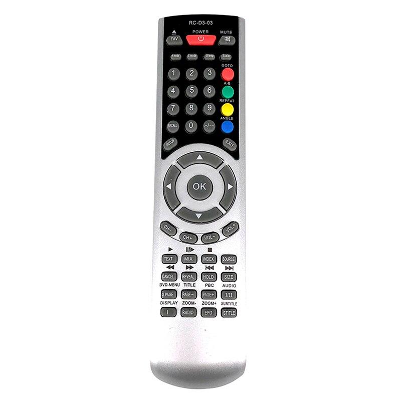 Nova Substituição para TECHNIKA TV/DVD controle Remoto COMBI RC-D3-03 Fernbedienung