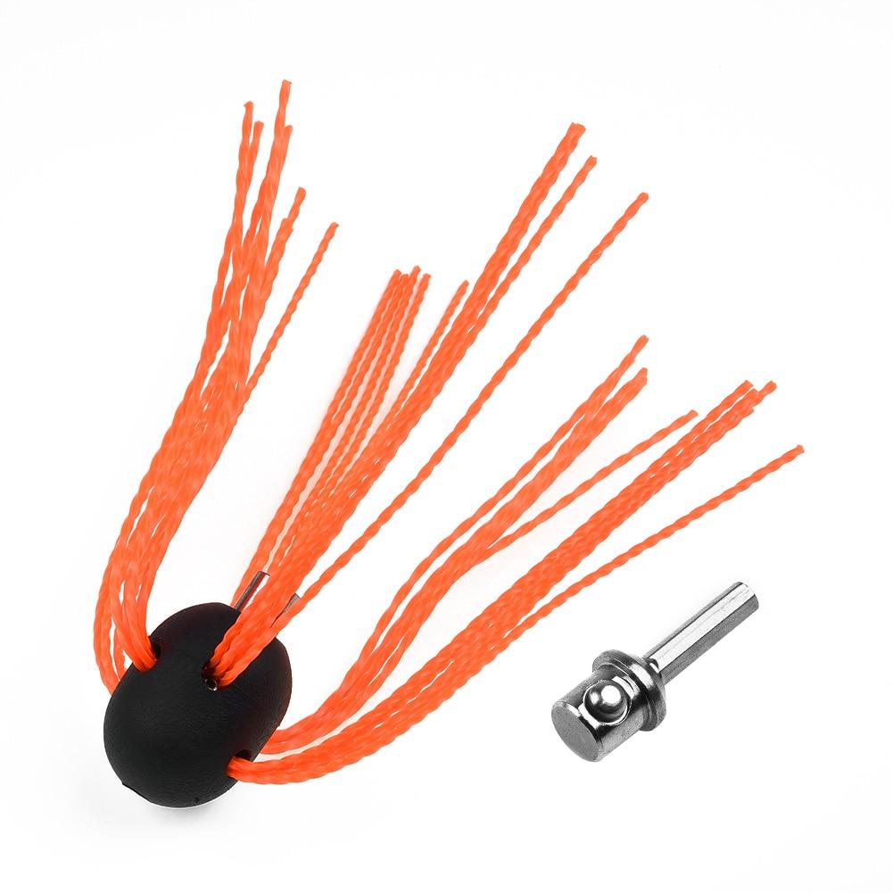 Casa flexível chaminé escova haste conector cabeça de energia giratória varrendo substituição