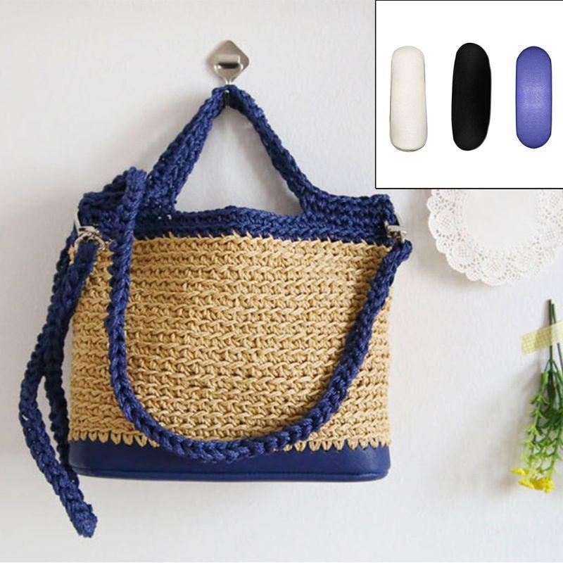 Bolsa de cuero Base almohadilla moldeadora para Crochet cubo bolsa monedero Q1QA