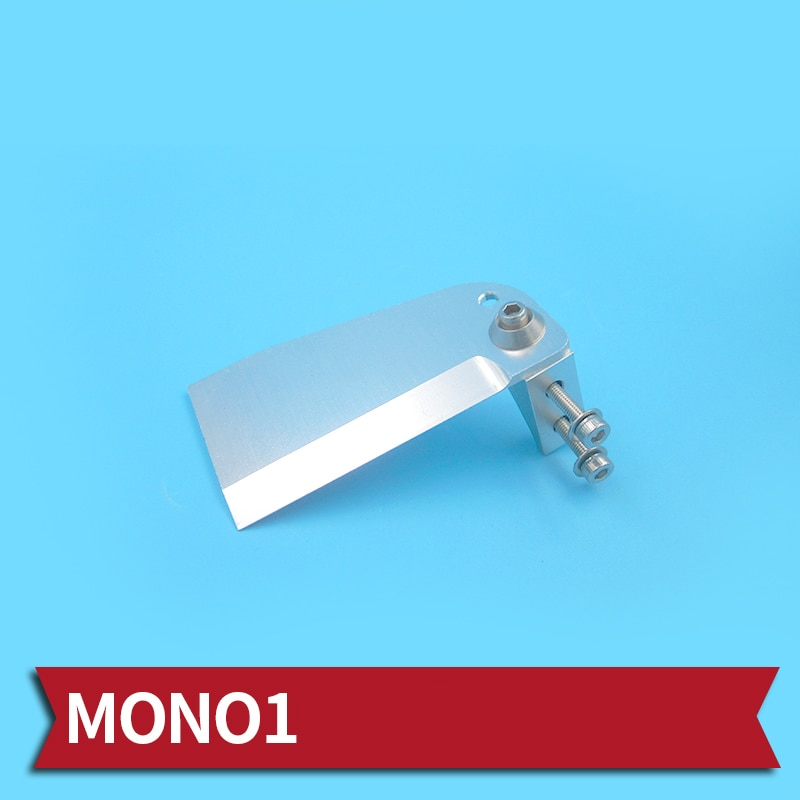 1PC 45cm Boats Turn Pins Aluminum Alloy 65x40mm Turning Pin CNC Auxiliary Water Jet for RC Mini Mono Accessories
