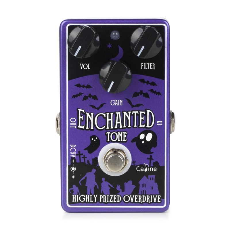 Caline CP-511 Enchanted Tone Highly Prized Overdrive Guitar Effect Pedal Guitar Accessories