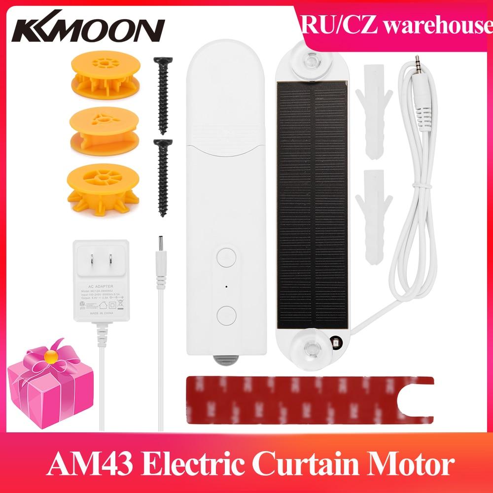 AM43 محرك كهربائي للستائر هاتف ذكي App التحكم الكهربائية نافذة يمكن طيها ولفها الستار الروماني ستارة ناعمة الشعور ضوء سحب المحرك