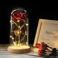 glass bottle glass dome cover for flower succulent plants with wood cork table decor diy dustproof bottle decorative display jar