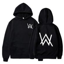 Hot sale Autumn Sweatshirts Fashion Men Women Alan Walker Hoodie Warm Pullovers Hip Hop Hoody Teenag