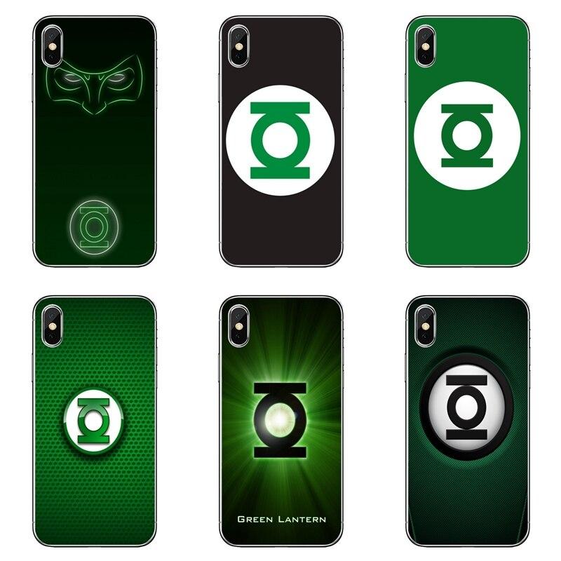 DC Co mi c Linterna Verde funda posterior para móvil para Xiaomi mi 9 9t CC9 CC9e 8 SE pro lite rojo mi nota 8 7 7A pro k20 2 3