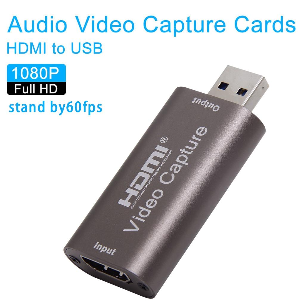 Mini 4k usb 2.0 3.0 hdmi placa de vídeo placa 1080p 60fps caixa de gravação do jogo computador transmissão ao vivo
