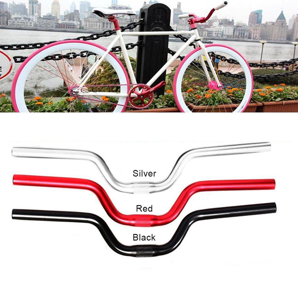 AliExpress - SALE Bicycle Handlebar Aluminum Alloy Fixed Gear Fixie Bike Cycling Riser Handlebar Handle Bar 25.4mm Bike Parts Dropshipping