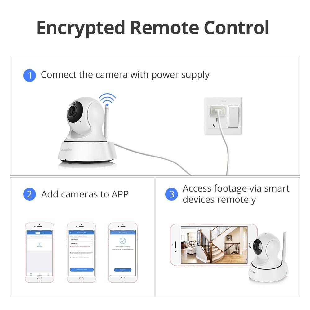 SANNCE 2K Hause Sicherheit IP Kamera Wi-Fi Wireless Mini Netzwerk Kamera Überwachung Wifi 3MP Nachtsicht CCTV Kamera Baby monitor