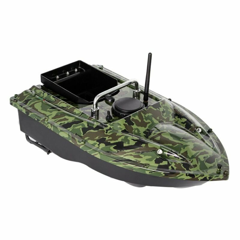 500M Wireless RC Fishing Bait Boat Set Hook/Bait Post 2 Motors Single Hand Control and GPS Fishfinder Set for Anglesport enlarge