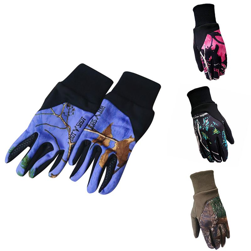 1 par de guantes deportivos de pantalla táctil invierno cálido al aire libre ciclismo correr escalada táctil Smartphone guantes para hombres mujeres Unisex