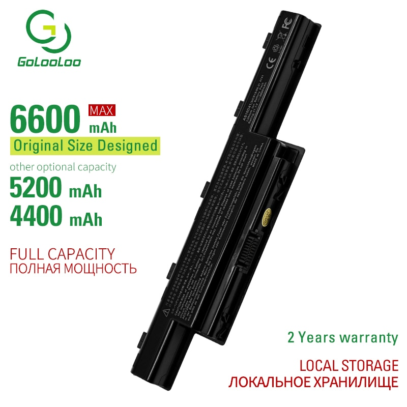 apexway new laptop battery as10d31 as10d51 as10d81 for acer aspire 4741 5750 5742g v3 571g v3 571g 771g for acer as10d61 as10d71 6600mAh 6CELL AS10D31 New laptop battery for Acer Aspire V3 4741 5552 5560G 5733Z 5736 5736ZG 5741ZG 5742G 5742Z AS10D41 AS10D81