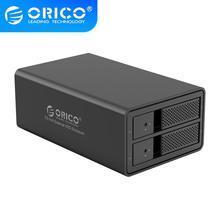 ORICO 95 série 2 baie 3.5 USB3.0 vers SATA avec RAID, systèmes pris en charge Windows / Mac / Linux capacité de prise en charge 32 to, ORICO 9528RU3