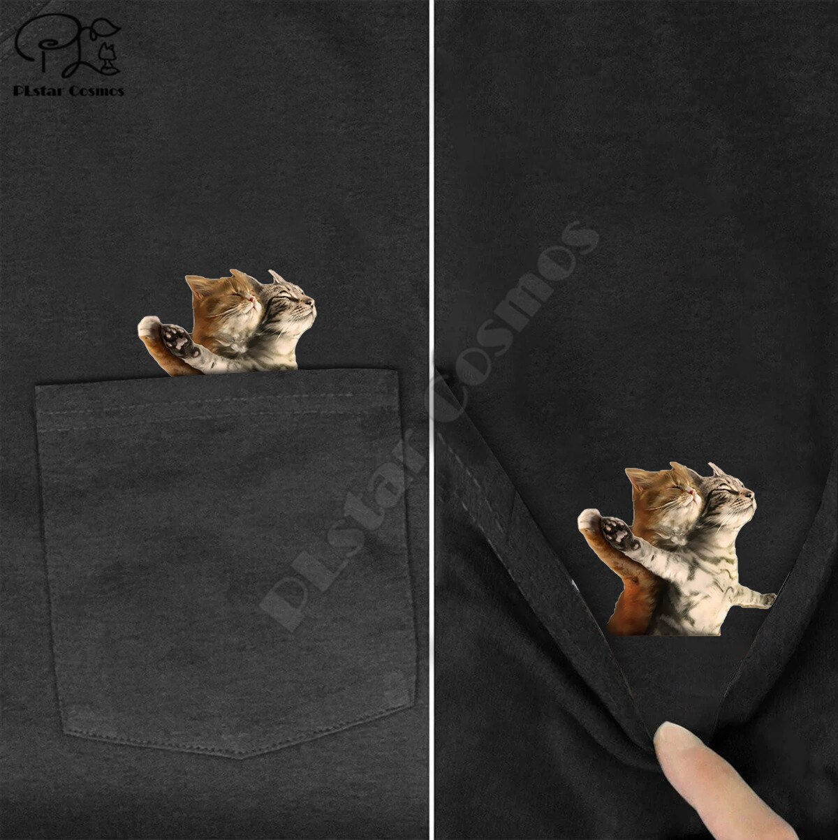t-shirt-fashion-summer-pocket-titanic-cat-printed-t-shirt-men's-for-women-shirts-hip-hop-tops-funny-cotton-tees-drop-shipping