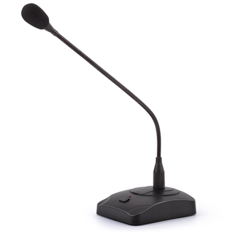 Hot Home professional condenser microphone Black desktop gooseneck microphone, conference microphone