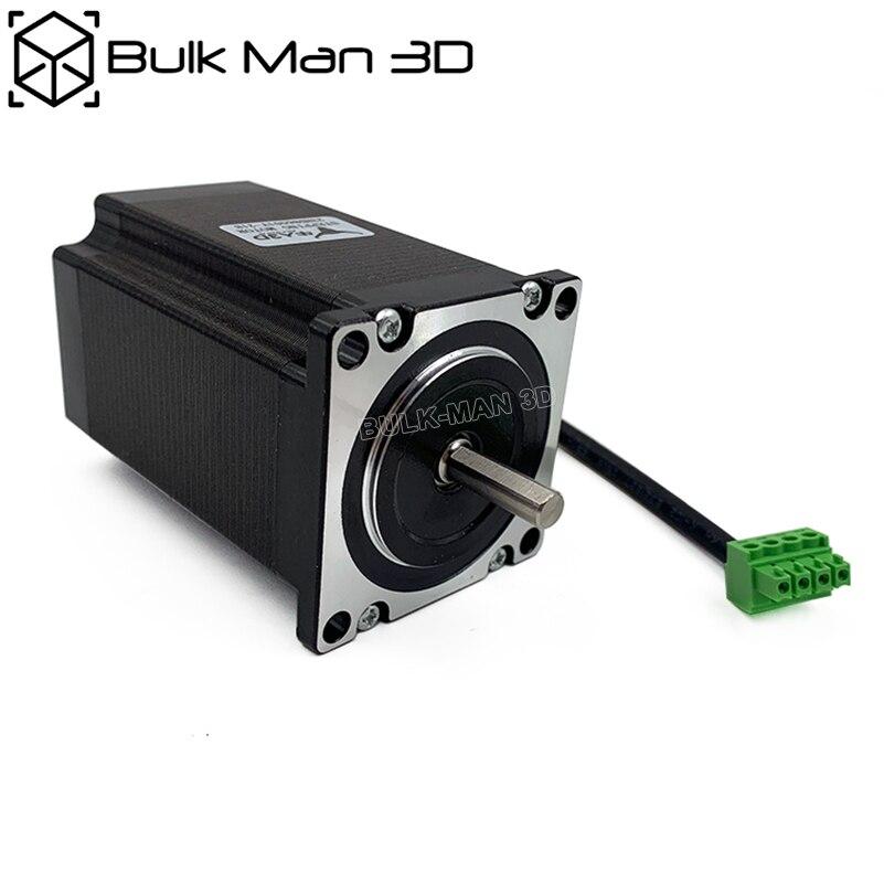 "2pcs/lot Nema23 Stepper Motors High Torque 345 oz*in / Shaft Size 1/4"" mm for CNC Router and 3D Printer"