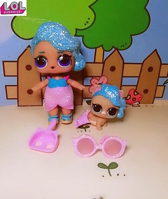 1 Набор LOL кукла сюрприз оригинальная Русалка платье редкий стиль игрушки куклы фигурка модель девушка Рождественский подарок