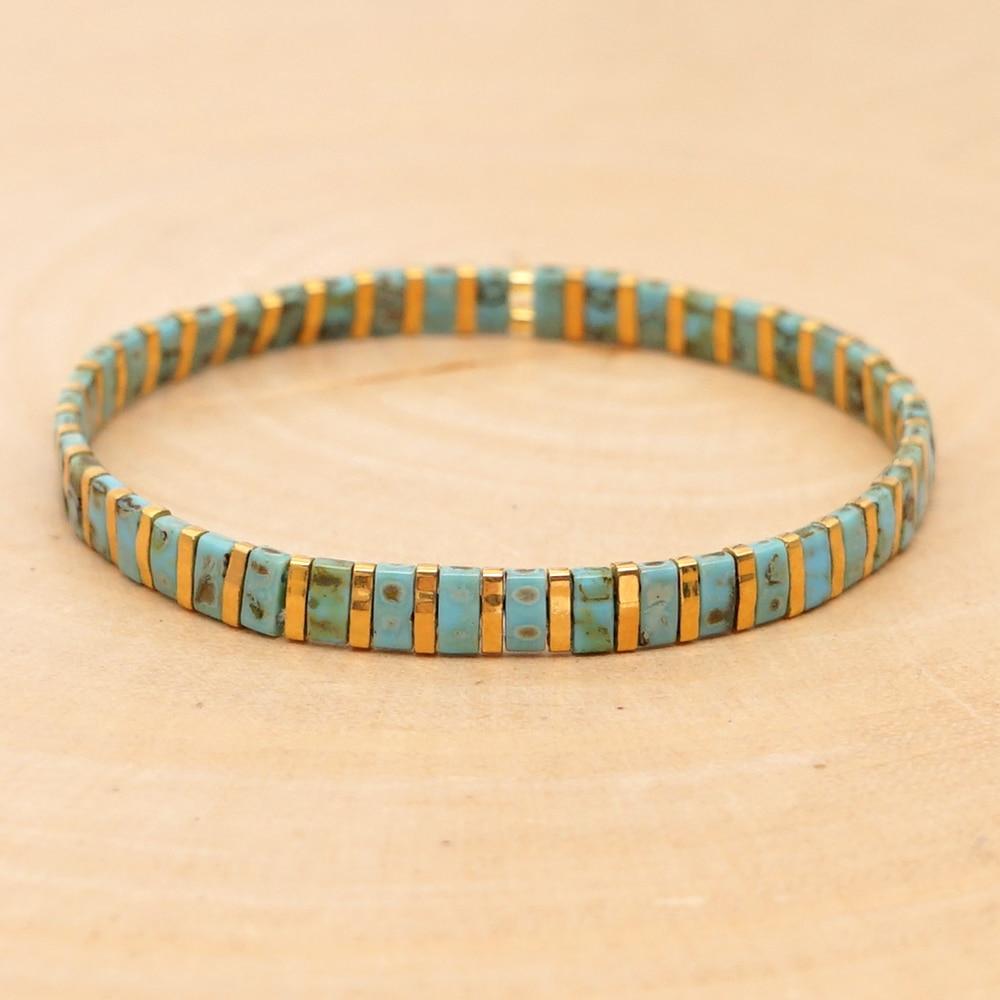 OAIITE Tila perles Bracelet MIYUKI à la mode 2020 nouveau hommes femmes Bileklik Femme Vintage Bracelets Boho Chic bijoux