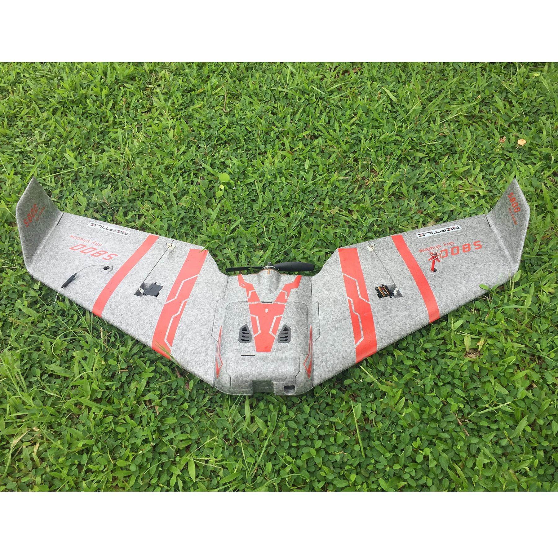 Набор гоночных крыльев Reptile S800 V2 SKY SHADOW 820 мм, размах крыльев, серый FPV EPP