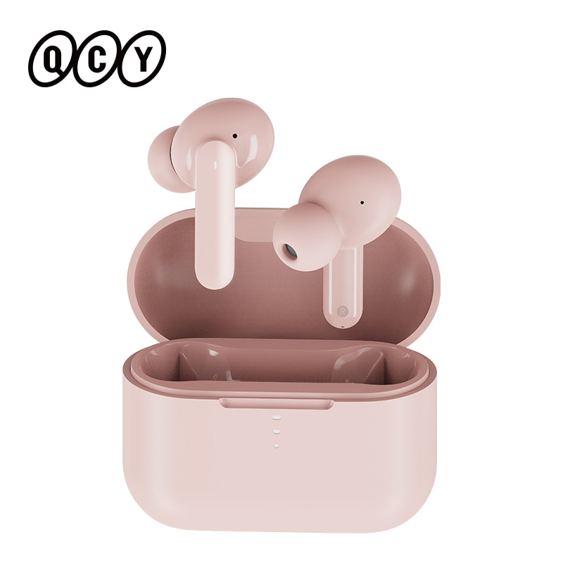 QCY T10 Bluetooth Wireless Headphones Dual-Armature in-ear Earphones APP intelligent control 4-mic Type-C quick charge